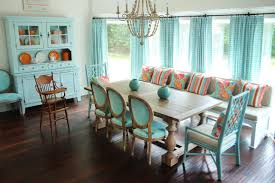 colorful dining room sets. Colorful Dining Room Sets Trends With Table Set And Pictures Modern Orange Chairs Magnificent Brown Varnished Teak Wooden