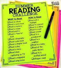 summer reading challenge 2017