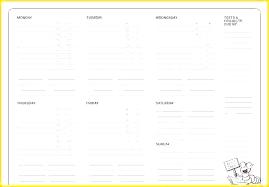 Weekly Homework Assignment Sheet Printable Homework Ent Planner High School Sheet Template