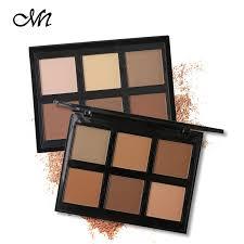 <b>Menow Brand</b> Eyes Makeup Matte Eyeshadow Palette <b>6 Color</b> Eye ...