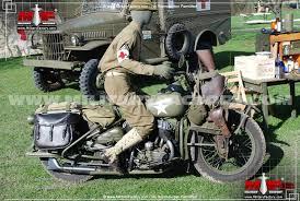 harley davidson wla military motorcycle