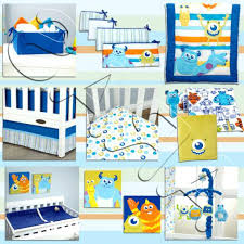 monster inc bedding set photo 2 of monsters inc at play crib bedding set by baby