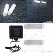 2019 waterproof 5v solar powered led solar light led outdoor light bulb garage shed corridor le cord switch lamp from lotmix 15 17 dhgate com
