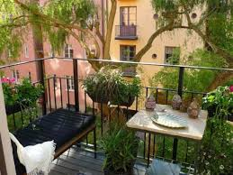 Small Picture Beautiful Apartment Patio Garden Contemporary Decorating Home