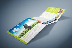 Graphic Design Eastbourne Square Folded Leaflet Design Eastbourne East Sussex