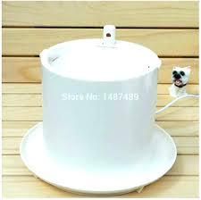 heated pet water bowl heated dog water bowl dog water bowls heated bowl lotus fountain swap heated pet water bowl