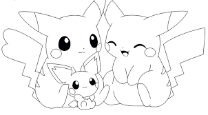 Pikachu Brock And Ash Pokemon Coloring Page Pages Halloween Scary