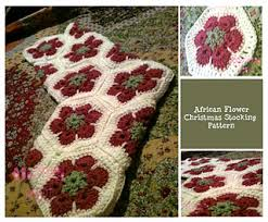 Crochet Stocking Pattern Unique Ravelry African Flower Crochet Christmas Stocking Pattern By Amy