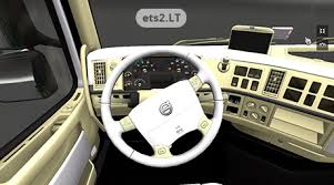 volvo trucks interior 2013. volvo blanco 1 trucks interior 2013 ets2lt