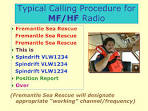 Amateur radio calling procedures