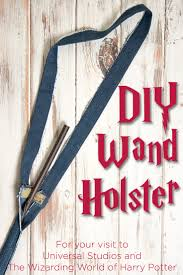 diy wand holster harry potter wand