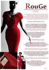 Fashion Designer Advertisement Fashion Interview Rouge Rising Fashion Designer Paris