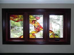 art glass windows antique art deco stained glass windows