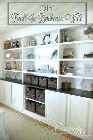 full wall shelves full size of to build a half wall bookshelf as well as how full wall shelves