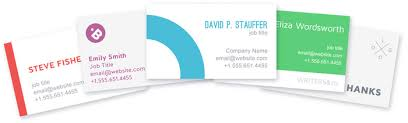Custom Business Card Printing Online Lucidpress Great Design Free