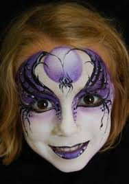 love this painted face it gives me an idea for a makeup