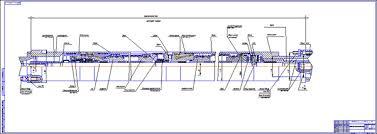Все работы студента Клуб студентов Технарь  Протектор П92Д электродвигателя ЭЦН Чертеж Оборудование для добычи и подготовки нефти и газа