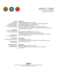 EmilyKelly Copywriter Resume