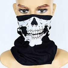 10PCS <b>Skeleton Masks</b> Magic <b>Bicycle Ski Skull</b> Half Face <b>Mask</b> ...