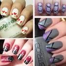 Что нарисовать на ногтях лаком а домашних условиях
