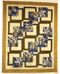 Excellent BQ example using a Debbie Bowles pattern from August ... & bq quilt patterns | bq bq stands for big quilt showcase your fabrics with  18 blocks Adamdwight.com