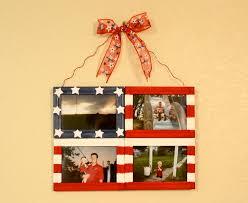 diy flag photo collage frame