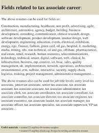 16 fields related to tax tax resume sample