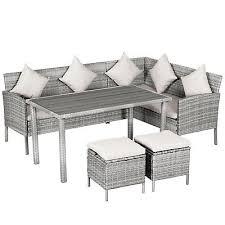 rattan corner sofa rattan patio furniture