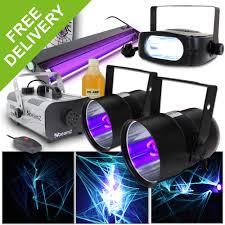 halloween lighting effects machine. Halloween Party In A Box UV Light Effects Strobe Disco DJ Smoke Machine + Cobweb Lighting M