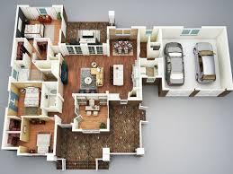 2 story 4 bedroom house floor plans 3d elegant corner lot duplex floor plans corner lot