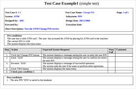 test plan template excel test case template 25 free word excel pdf documents download