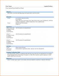 Microsoft Professional Resume Templates Best of Professional Resume Templates For Microsoft Word Nice Free Resume
