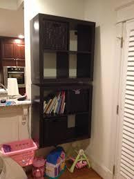 Ikea Lack Shelf Hack How To Mount A Safe Floating 2 X 4 Expedit Shelf Ikea Hackers
