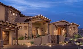 southwest ranch style homes were large rectilinear compounds designed around large open floor plans where all of the major rooms flow one into the other