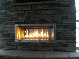 vent free gas fireplace insert with logs ventless inserts safety home depot