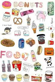 food tumblr collage. Plain Food Tumblr Collage Emoji Wallpaper Cute Food  Backgrounds To Collage I