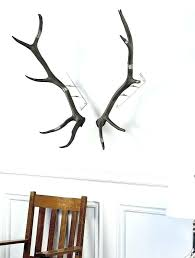 antler wall art antler wall art antlers prime com silver stag head wall art
