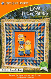 Panel Quilt Patterns Interesting Love Those Panels Quilt Pattern Cozy Quilt Designs
