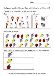 Creating Tally Charts Worksheets