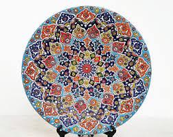 handmade ceramic wall plate pottery hanging plate plate decorative plate handmade pottery plate decorative plates for hanging wall art on decorative plates wall art with decorative plates etsy