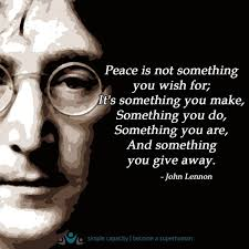 Celebrity Quotes Peace Quotes Daily Leading Quotes Magazine Impressive Famous Quotes About Peace