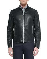 Theory Men S Size Chart Mens Morvek Zip Front Leather Jacket