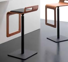 contemporary bar stools wood