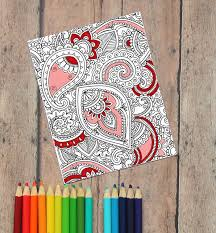 Valentines cards to color are fun, but they also help children develop many important skills. Adult Coloring Valentine S Day Cards Free Printable The Craft Patch