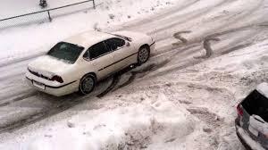 Chevy impala vs snow part1 - YouTube