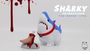 sharky the foolish shark by chubby bear studio pre order info  sharky the foolish shark by chubby bear studio pre order info