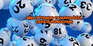 19 Mayıs Milli Piyango sonuçları - Milli Piyango bilet sorgulama