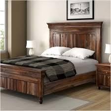 real wood bedroom furniture. modern rustic solid wood bed frame w headboard footboard real bedroom furniture a