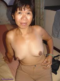 Asian granny blow job 3