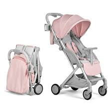 Прогулочная коляска Kinderkraft Pilot Pink (подстаканник ...
